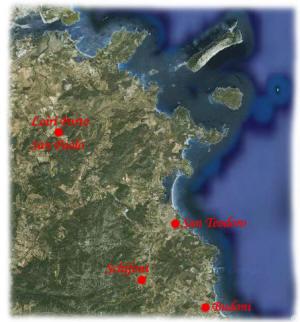 Cartina Di San Teodoro Sardegna.Schifoni Frazione Del Comune Di San Teodoro Sardegna